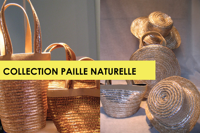 COLLECTION PAILLE NATURELLE