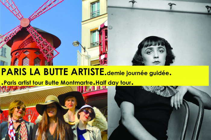 PARIS ARTIST BUTTE half day