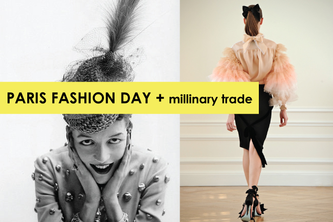 Fashion day + millinary trade